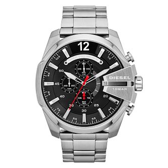 Diesel Mega Chief Men's Stainless Steel Bracelet Watch - Product number 1597655