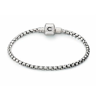 Chamilia Sterling Silver Oxidised Box Chain 7.9in Bracelet - Product number 1600494
