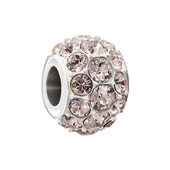 Chamilia Splendour Vintage Rose Swarovski Elements Bead - Product number 1605070