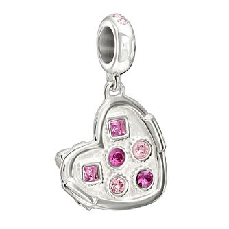 Chamilia Silver Box Of Chocolates Swarovski Crystal Charm - Product number 1605097