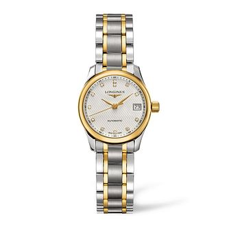 Longines Master Collection Ladies' Diamond Two Colour Watch - Product number 1607855