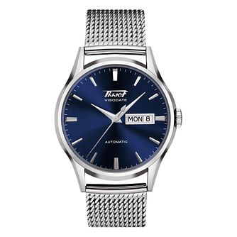 Tissot Exclusive Visodate Stainless Steel Bracelet Watch - Product number 1617931