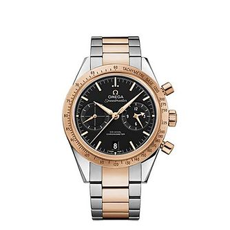 Omega Speedmaster Qx57 Men's Two-Tone Bracelet Watch - Product number 1631101