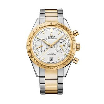 Omega Speedmaster Qx57 Men's Two Colour Bracelet Watch - Product number 1631128