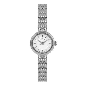 Rotary Ladies' Oval Dial Stainless Steel Bracelet Watch - Product number 1638653