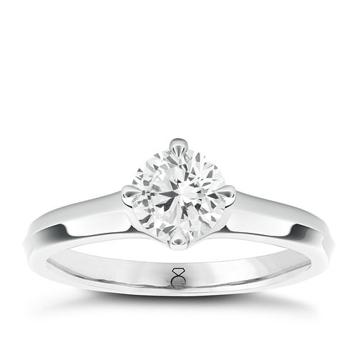 The Diamond Story 18ct White Gold 1/3ct diamond ring - Product number 1660799