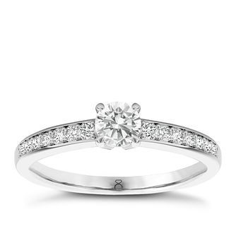 The Diamond Story 18ct White Gold 1/2ct diamond ring - Product number 1661205