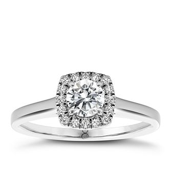 The Diamond Story 18ct White Gold 0.33ct Total Diamond Ring - Product number 1661639