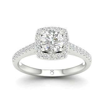 The Diamond Story 18ct White Gold 0.66ct Total Diamond Ring - Product number 1661833