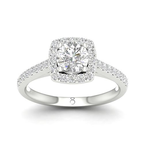 The Diamond Story 18ct White Gold 2/3ct diamond ring - Product number 1661833
