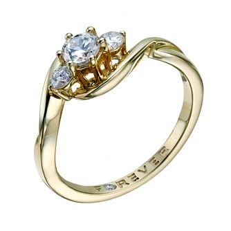 9ct Gold 1/2 Carat Forever Diamond Ring - Product number 1679406