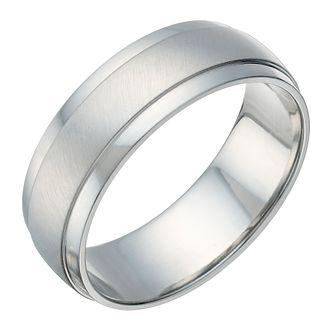 67c9b4c42e7 Cobalt Matt   Polished 7mm Ring - Product number 1700758