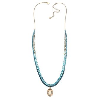 Swarovski Azore Gold-Plated Strandage Necklace - Product number 1738895