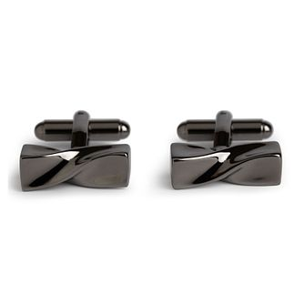 Simon Carter Gunmetal Twisted Cufflinks - Product number 1746154