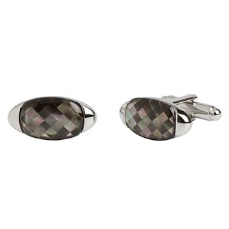 Simon Carter grey mother of pearl cufflinks - Product number 1746219