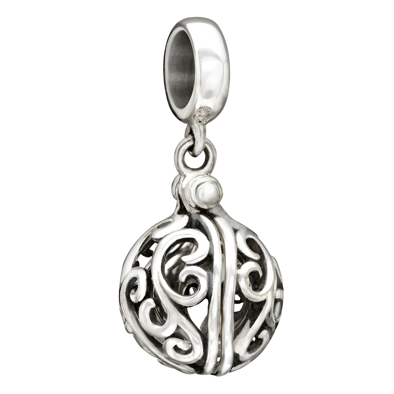 Chamilia Sterling Silver Secret Treasure Qxhidden Love' Bead - Product number 1750984