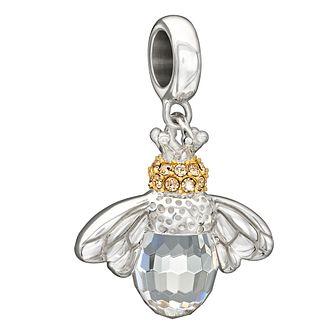 Chamilia Sterling Silver Swarovski Good To Bee Queen Bead - Product number 1751042