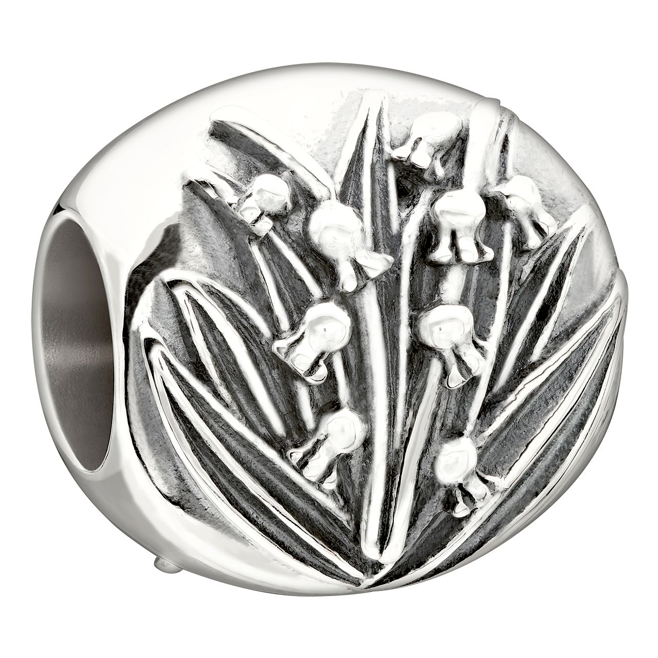 Chamilia Sterling Silver Qxgarden Club May Lily' Bead - Product number 1751115