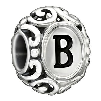 Chamilia sterling silver letter B bead - Product number 1751204