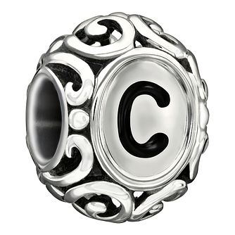 Chamilia Sterling Silver Letter C Bead - Product number 1751212