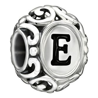 Chamilia sterling silver letter E bead - Product number 1751239