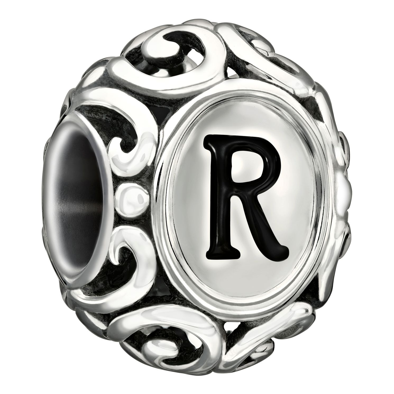 Chamilia Sterling Silver Letter R Bead - Product number 1751387
