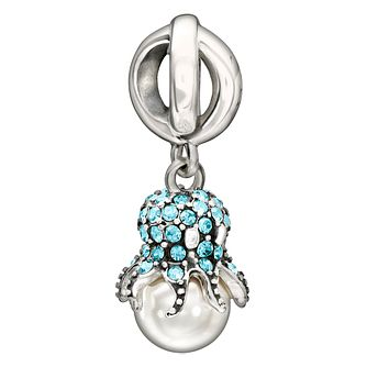 Chamilia 'Octopus Garden' pearl & Swarovski crystal charm - Product number 1751492