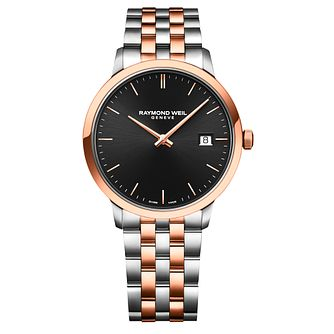 Raymond Weil Toccata Men's Two Tone Bracelet Watch - Product number 1753797