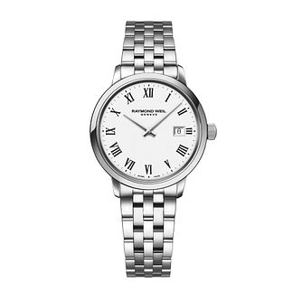 Raymond Weil Toccata Ladies' Stainless Steel Bracelet Watch - Product number 1753800
