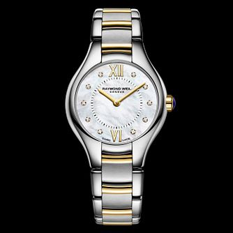 Raymond Weil Noemia Ladies' Two Tone Bracelet Watch - Product number 1753908