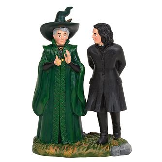 Harry Potter Village Snape & McGonagall Figurine - Product number 1755110
