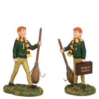 Harry Potter Village The Weasley Twins Figurines - Product number 1755129