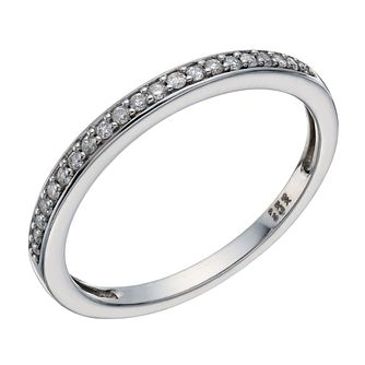 9ct White Gold Diamond Perfect Fit Eternity Ring - Product number 1761633