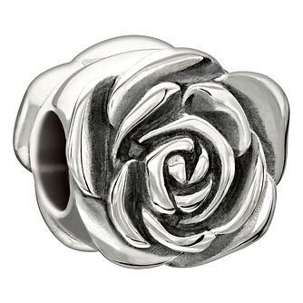 Chamilia Sterling Silver Garden Rose June Charm - Product number 1767127