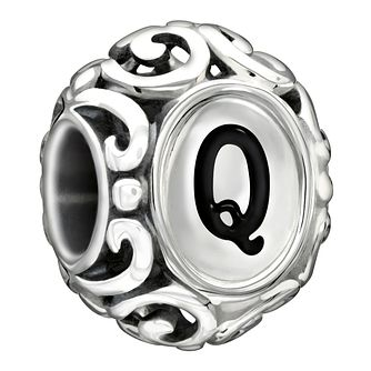 Chamilia Sterling Silver Letter Q Charm - Product number 1767607