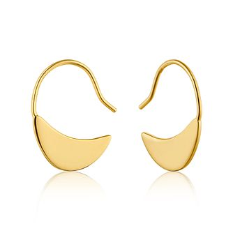 Ania Haie 14ct Yellow Gold Plated Geometry Hook Earrings - Product number 1769774