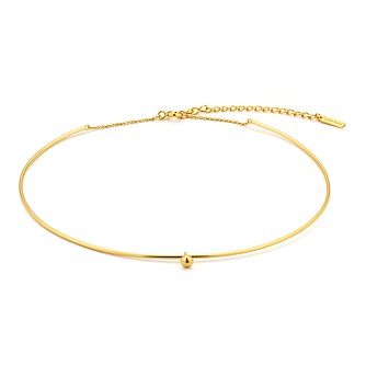 Ania Haie 14ct Yellow Gold Plated Solid Orbit Choker - Product number 1769960