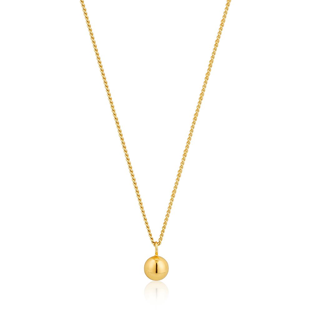 Ania Haie 14ct Yellow Gold Plated Orbit Ball Necklace - Product number 1769987