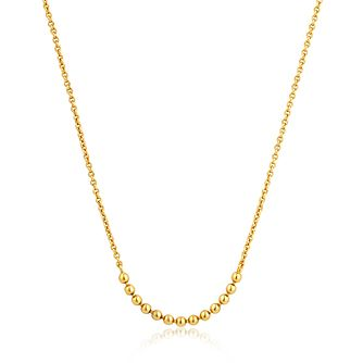 Ania Haie 14ct Yellow Gold Plated Modern Balls Necklace - Product number 1770241