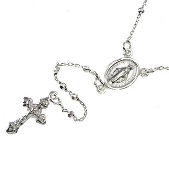 Cailin sterling silver Rosary beads - Product number 1772791