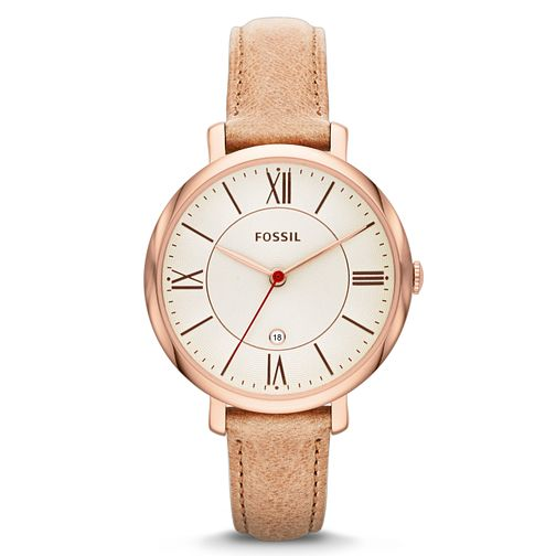 Fossil Ladies' Sand Leather Strap Watch - Product number 1780972