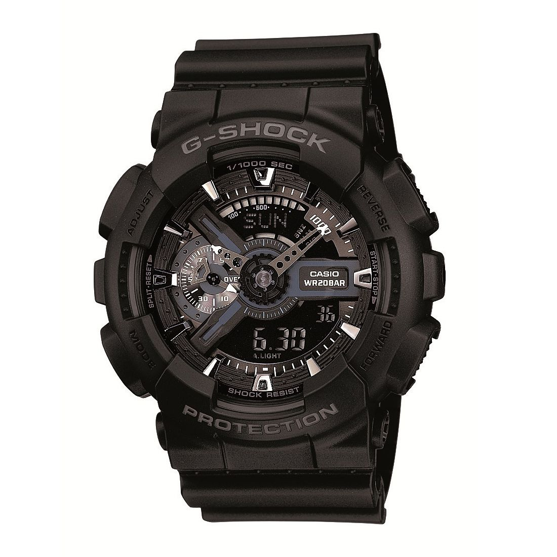 Casio G-Shock Men's Black Rubber Strap Watch - Product number 1781294