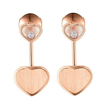 Chopard Limited Edition James Bond 007 Happy Hearts Earrings - Product number 1845489