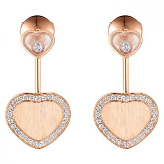 Chopard Limited Edition James Bond 007 Happy Hearts Earrings - Product number 1846086
