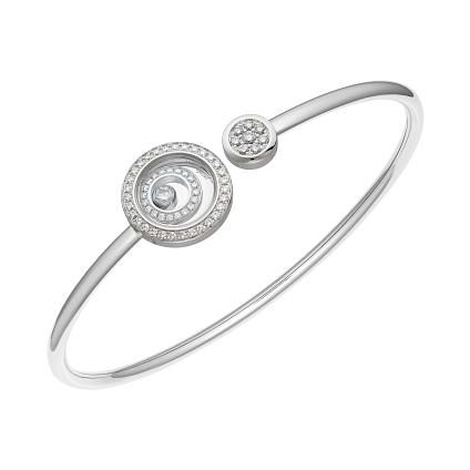 Chopard Happy Spirit 18ct White Gold Diamond Bracelet - Product number 1846825