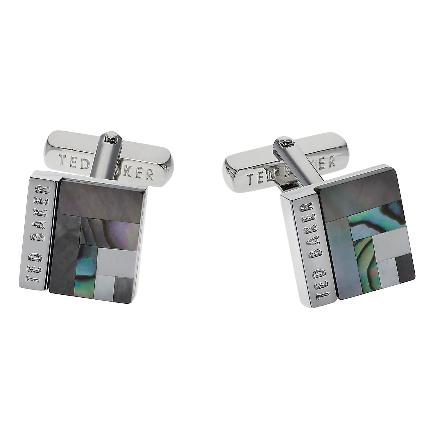 Ted Baker Brass Burro Art Deco Square Cufflinks - Product number 1864777