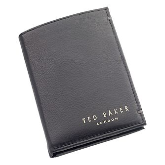 Ted Baker Zacks Black Bi-Fold Leather Wallet - Product number 1865242