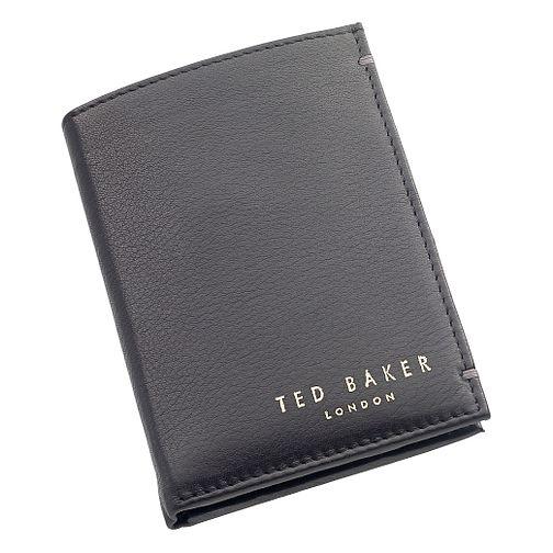 5f6c2153e Ted Baker Zacks black bi-fold leather wallet XOOM XW54 00 - Ernest Jones