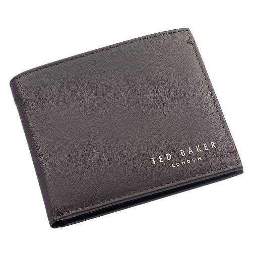 63e33f59d56a7 Ted Baker Antonys chocolate bi-fold leather wallet - Product number 1866028