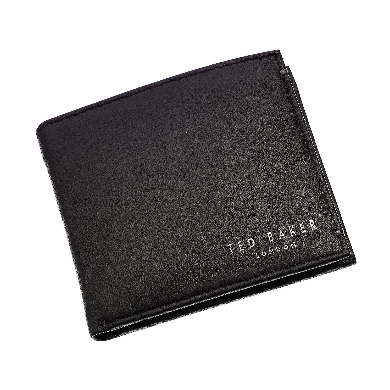 Ted Baker Harvys Black Leather Bifold Wallet - Product number 1866176
